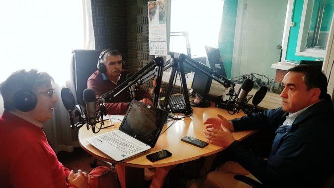 En el programa Por la Línea del Medio, Espinoza anunció su candidatura senatorial
